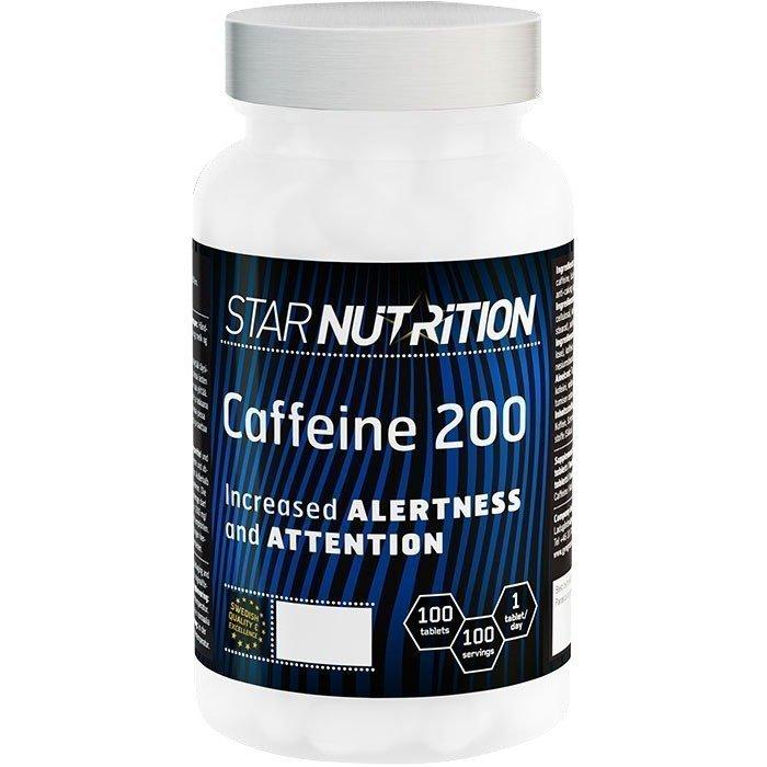 Star Nutrition Caffeine 200 100 tabs