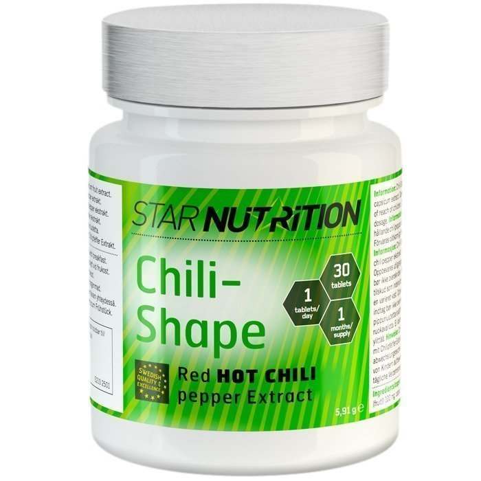 Star Nutrition Chili-Shape 30 caps