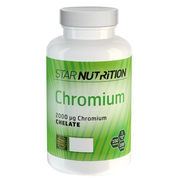 Star Nutrition Chromium 100 caps