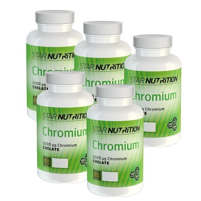 Star Nutrition Chromium BIG BUY 500 caps