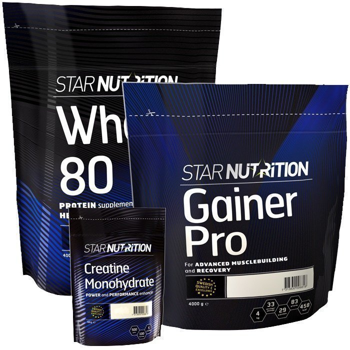 Star Nutrition Ennen ja jälkeen harjoittelun