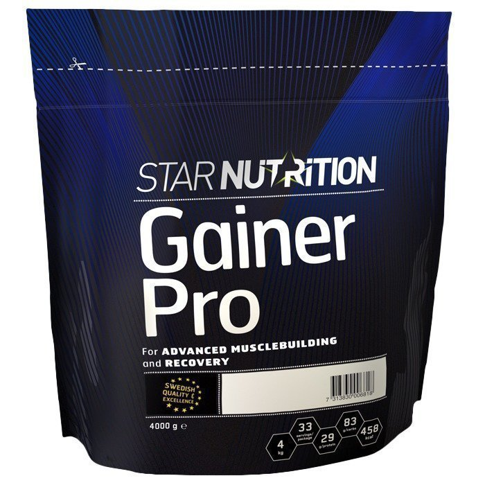 Star Nutrition Gainer Pro 4 kg Mansikka