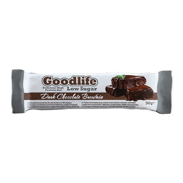 Star Nutrition Goodlife Low Sugar 50 g Dark Chocolate Brownie