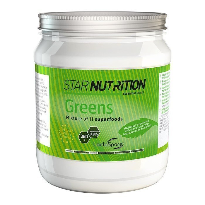 Star Nutrition Greens 360 g