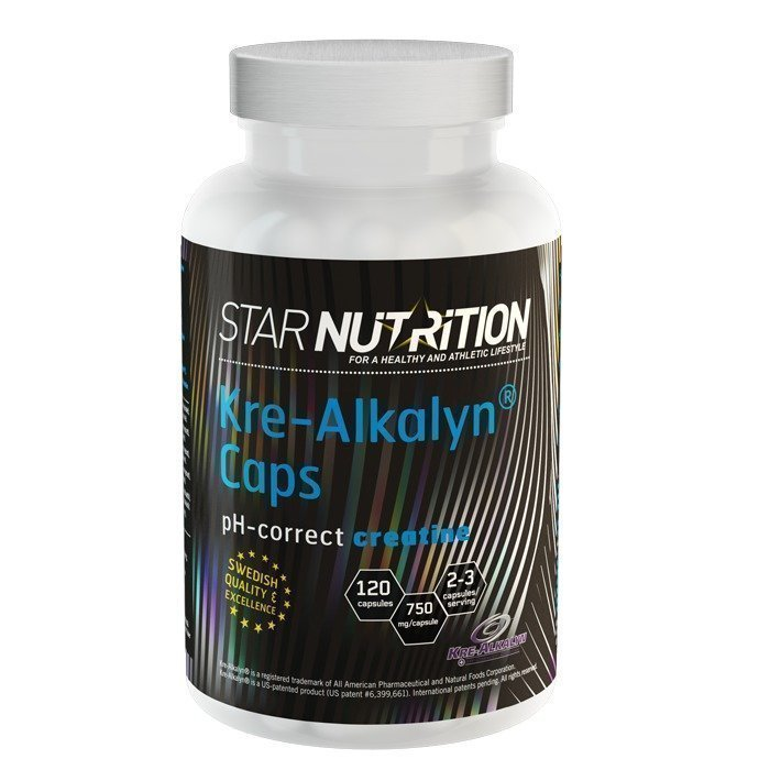 Star Nutrition Kre-Alkalyn Caps 120 caps