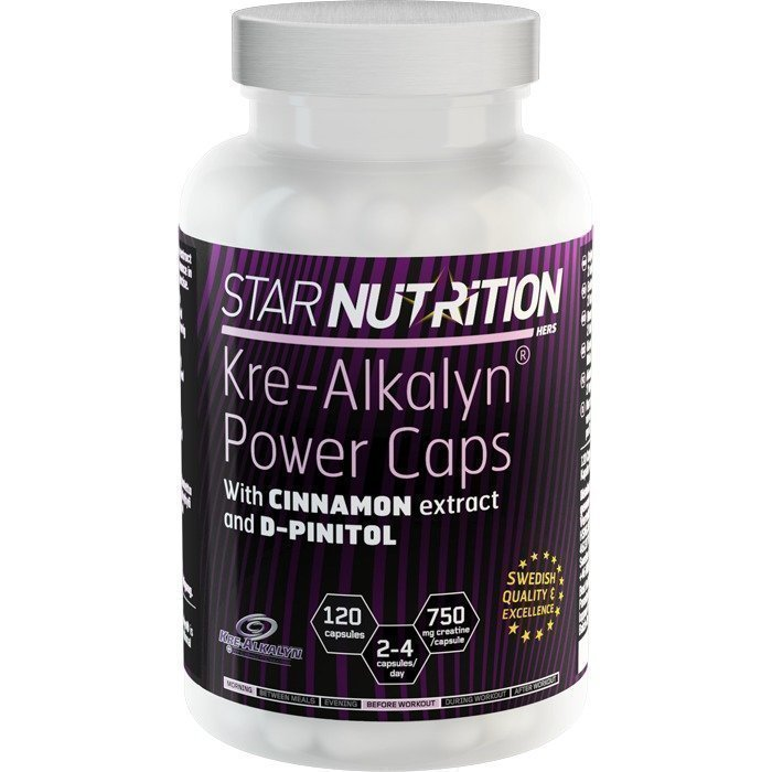 Star Nutrition Kre-Alkalyn Power Caps 120 caps
