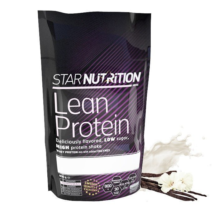 Star Nutrition Lean Protein 900 g Strawberry White Chocolate
