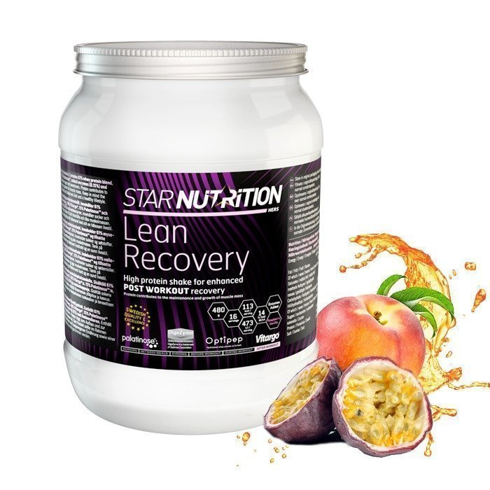 Star Nutrition Lean Recovery 480 g Vanilla-Raspberry