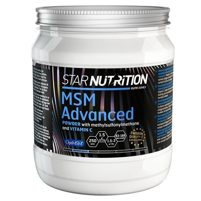 Star Nutrition MSM Advanced Powder 250 g