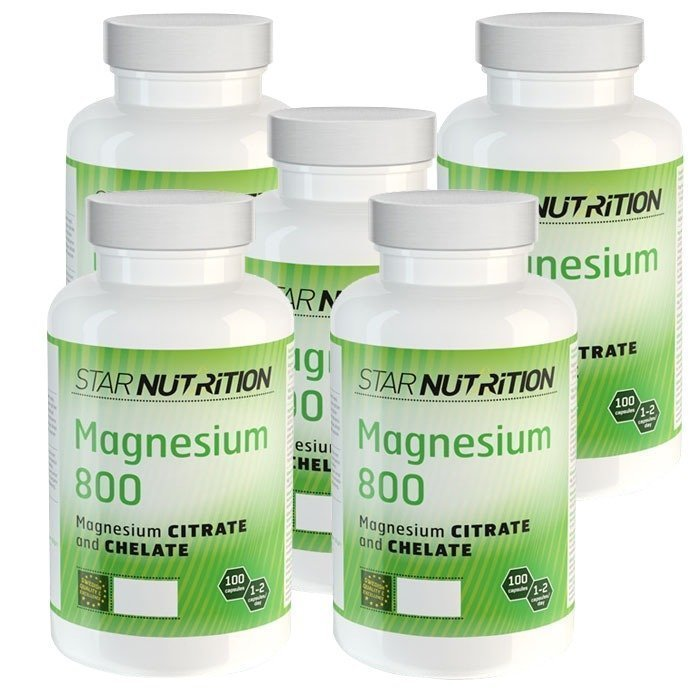 Star Nutrition Magnesium 800 BIG BUY 500 caps