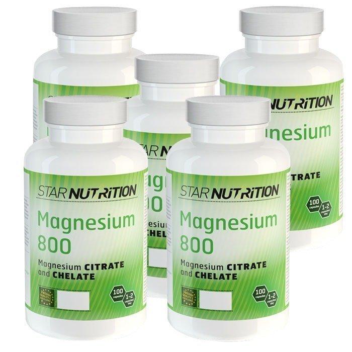 Star Nutrition Magnesium 800 BIG BUY 500 caps