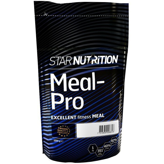 Star Nutrition Meal-Pro 1 kg Suklaa