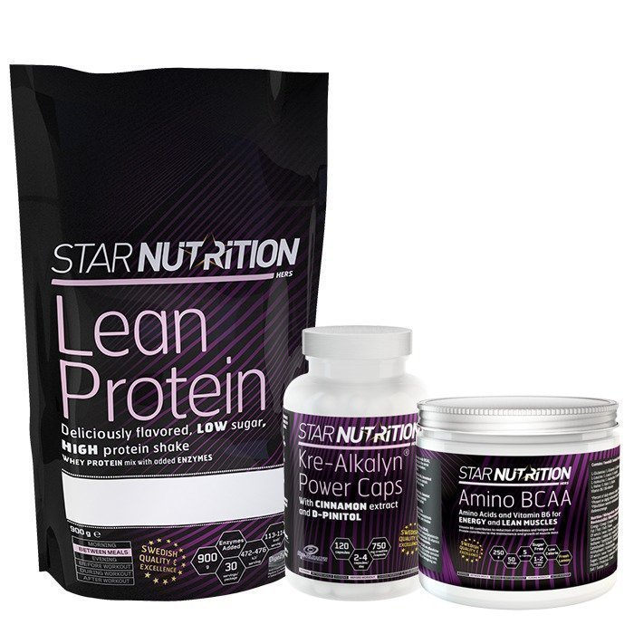 Star Nutrition Muscle Building Pack Advanced