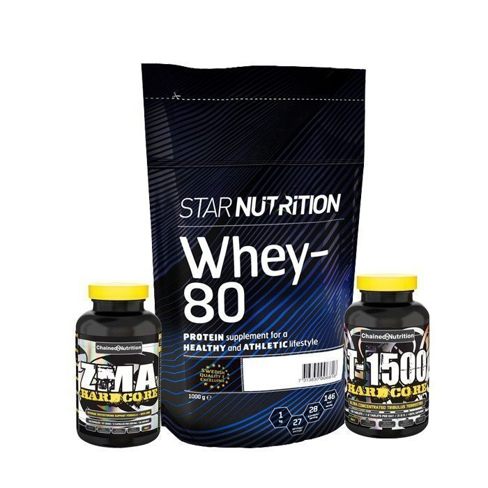 Star Nutrition Muscle Building Pack Basic