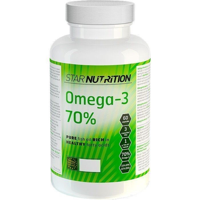 Star Nutrition Omega-3 70% 60 caps