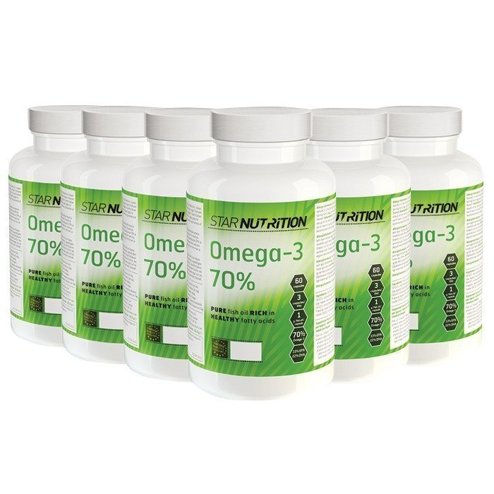 Star Nutrition Omega-3 70% BIG BUY 720 caps