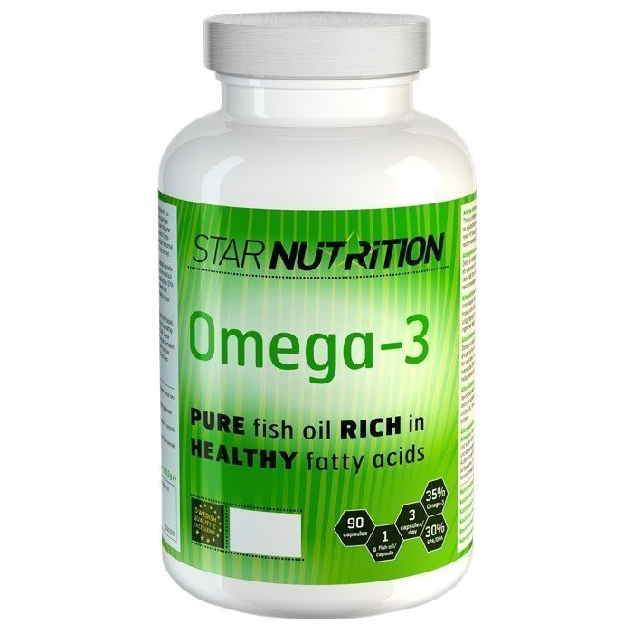Star Nutrition Omega-3 90 caps 1000 mg