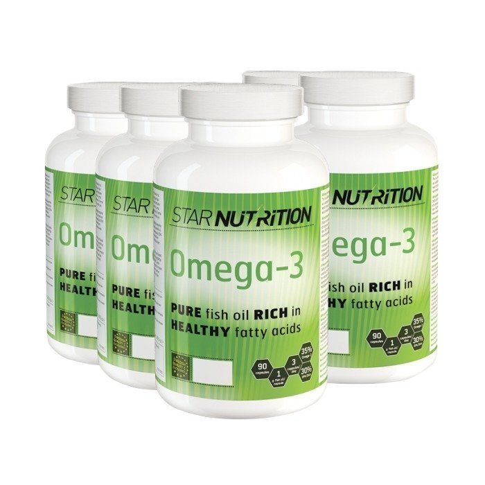 Star Nutrition Omega-3 BIG BUY 540 caps