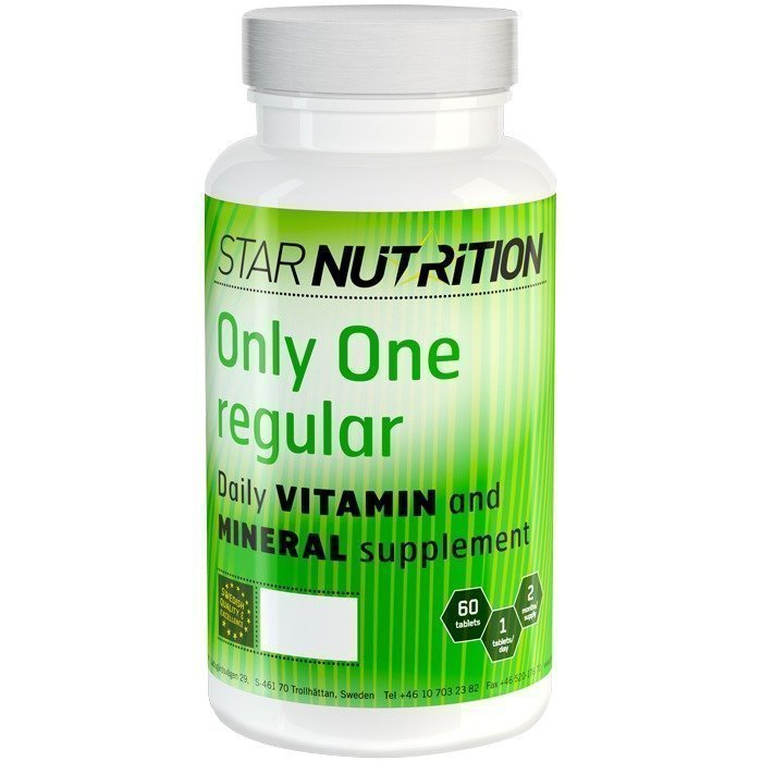 Star Nutrition Only One Regular 60 tabs - Luontaistuotekauppa24.fi