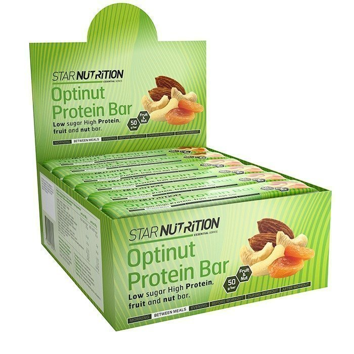 Star Nutrition Optinut Protein Bar 50 g x 12 BOX