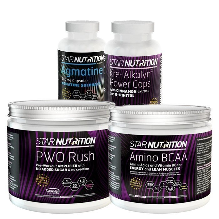Star Nutrition Performance Pack Advanced