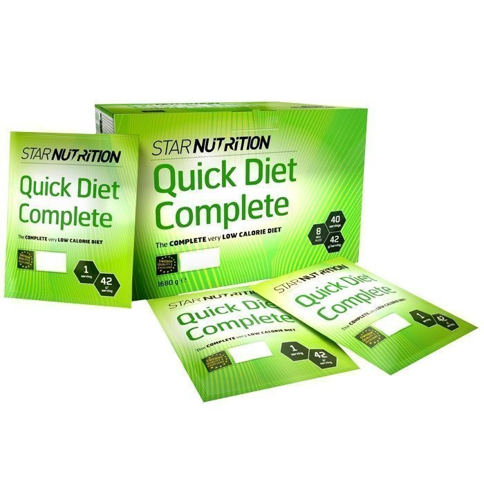 Star Nutrition Quick Diet Complete 40 pussia Mansikka