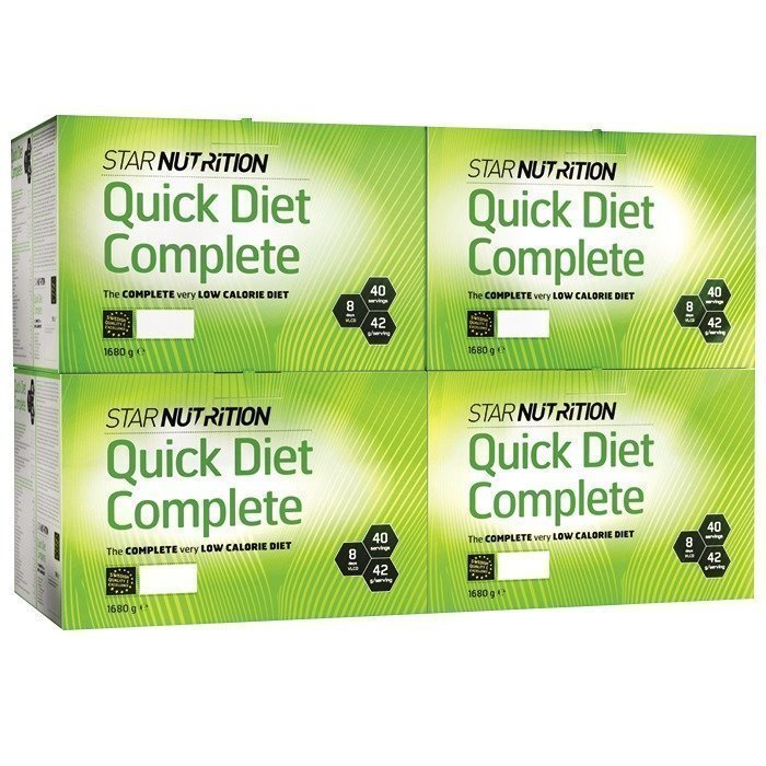 Star Nutrition Quick Diet Complete BIG BUY 160 servings