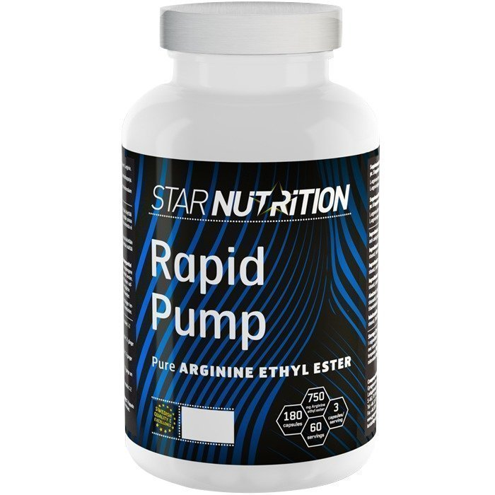 Star Nutrition Rapid Pump 180 caps