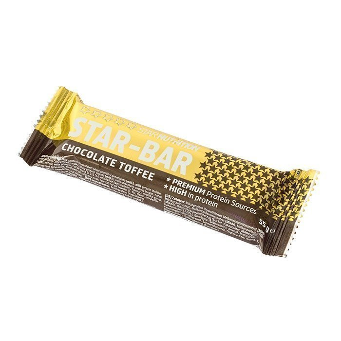 Star Nutrition Star-Bar 55 g Caramel Toffee