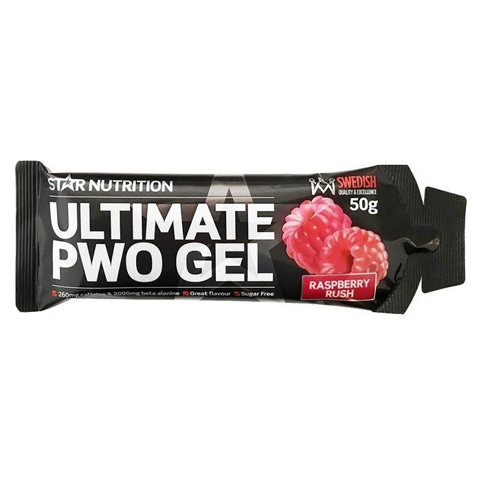 Star Nutrition Ultimate PWO Gel 50 g Raspberry