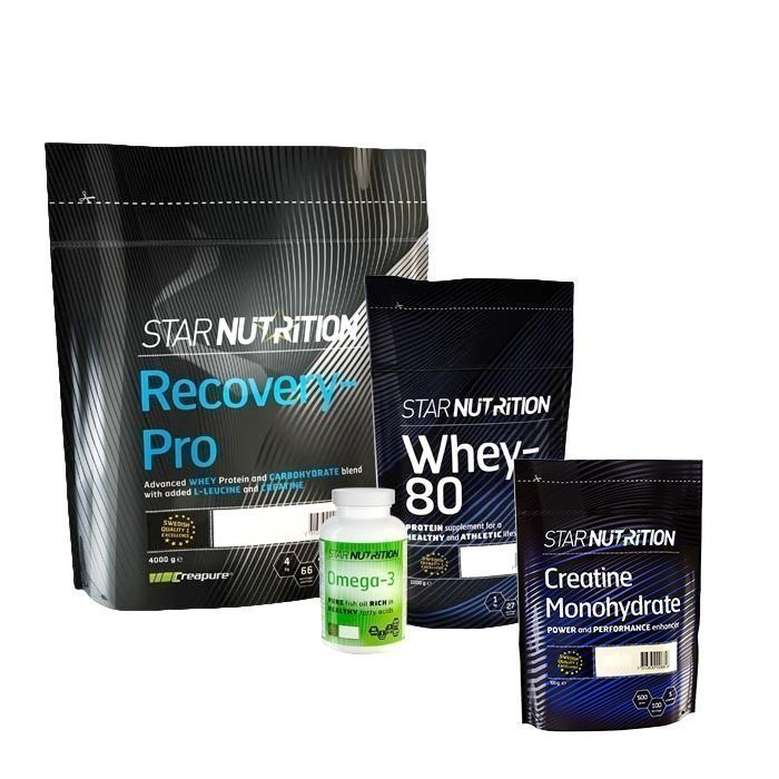 Star Nutrition Workout & Recovery Pack