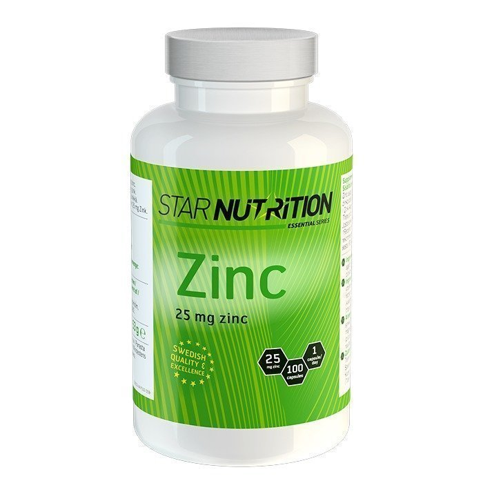 Star Nutrition Zinc 100 caps