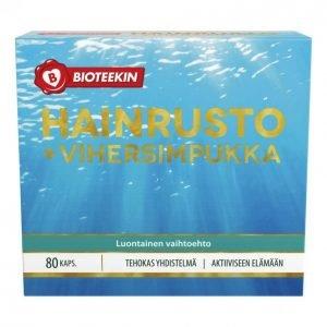 Suomen Bioteekin Hainrusto + Vihersimpukka 80 Kpl