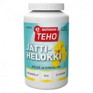 Suomen Bioteekin Teho Jättihelokki Ravintolisä 160 Kpl