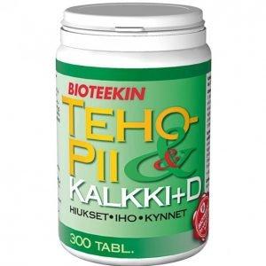 Suomen Bioteekin Tehopii + Kalkki + D 300 Kpl