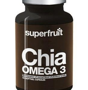 Superfruit Chia Omega-3 Kapselit