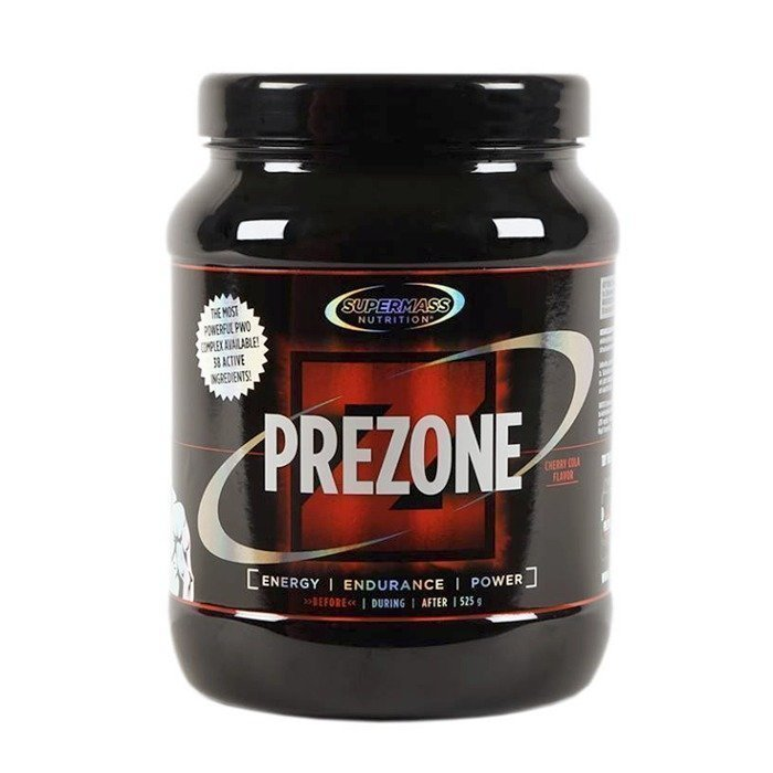 Supermass Nutrition PreZone 525 g Raspberry Salty Liquorice