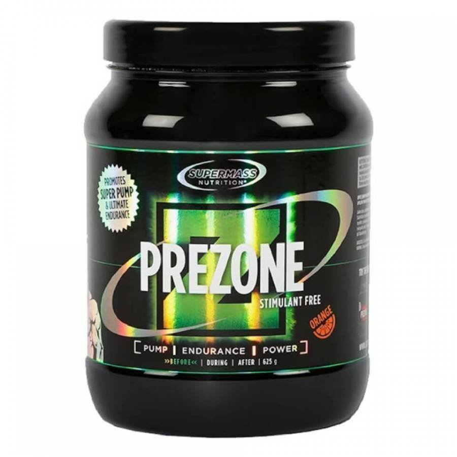 Supermass Prezone Stimulant Free 625 G Tubs Oranssi