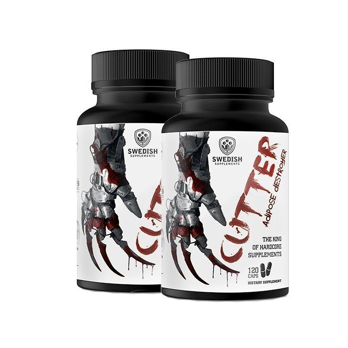 Swedish Supplements 2 x Cutter 120 caps