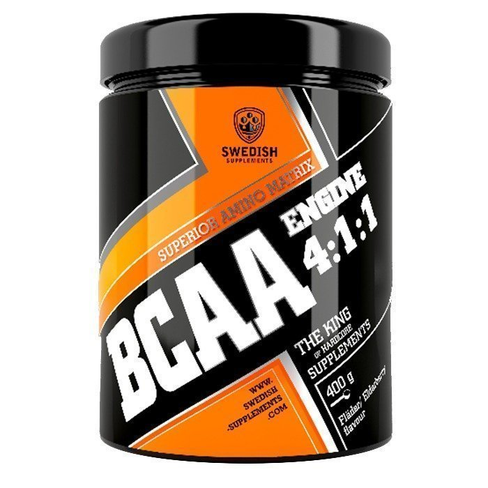 Swedish Supplements BCAA Engine 4:1:1 400 g Strawberry Midsummer