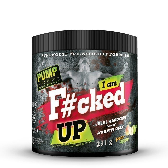 Swedish Supplements F#cked up Pump Edition 231 g Forest Raspberry