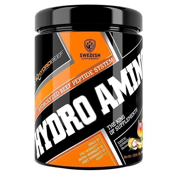 Swedish Supplements Hydro Amino Peptide 500 g Exotic Sunshine