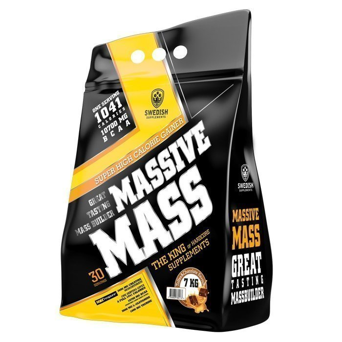 Swedish Supplements Massive Mass 3500 g Toffee Chocolate