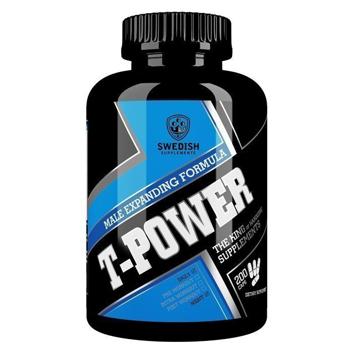 Swedish Supplements T-Power 200 caps