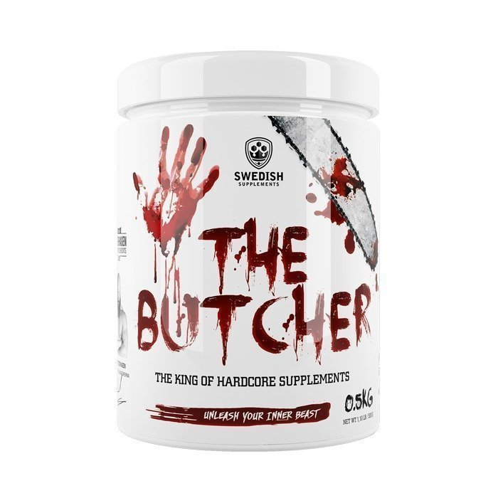 Swedish Supplements The Butcher 500 g Battlefield Red