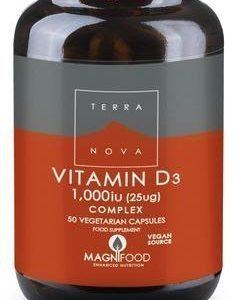 Terranova D3-Vitamiini 25 Ug Complex