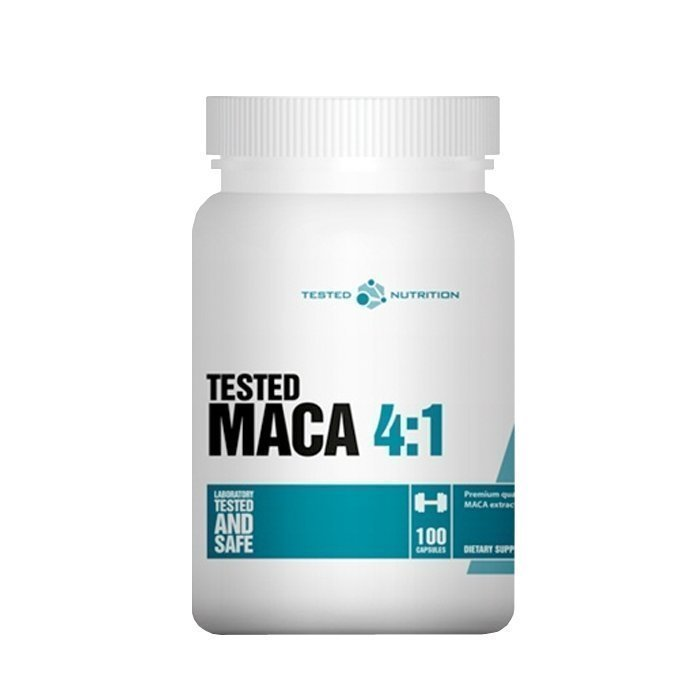 Tested Nutrition Tested MACA 4:1 100 kapselia