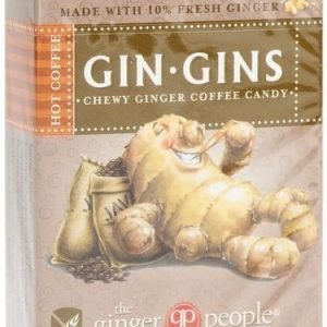 The Ginger People Gin-Gins Inkiväärikaramelli Hot Coffee