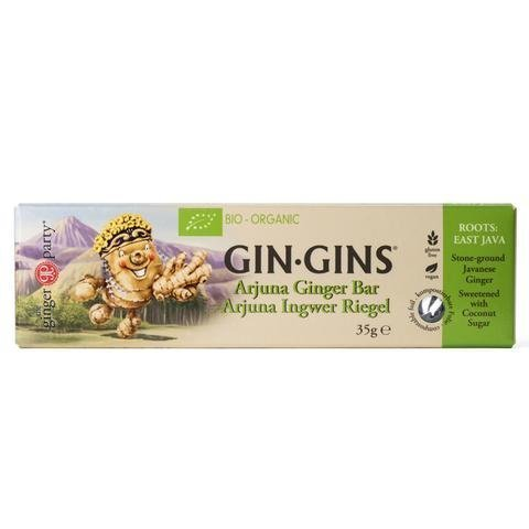 The Ginger People Luomu Gin-Gins Arjuna Inkivääripatukka