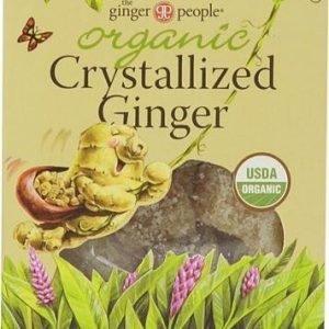 The Ginger People Luomu Kristalloidut Inkiväärikuutiot